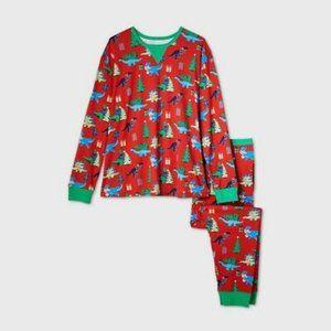 Wondershop by Target Dinosaur Holiday Pajamas L